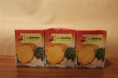 Jus d'ananas 6x20cl , Epicerie ST Georges